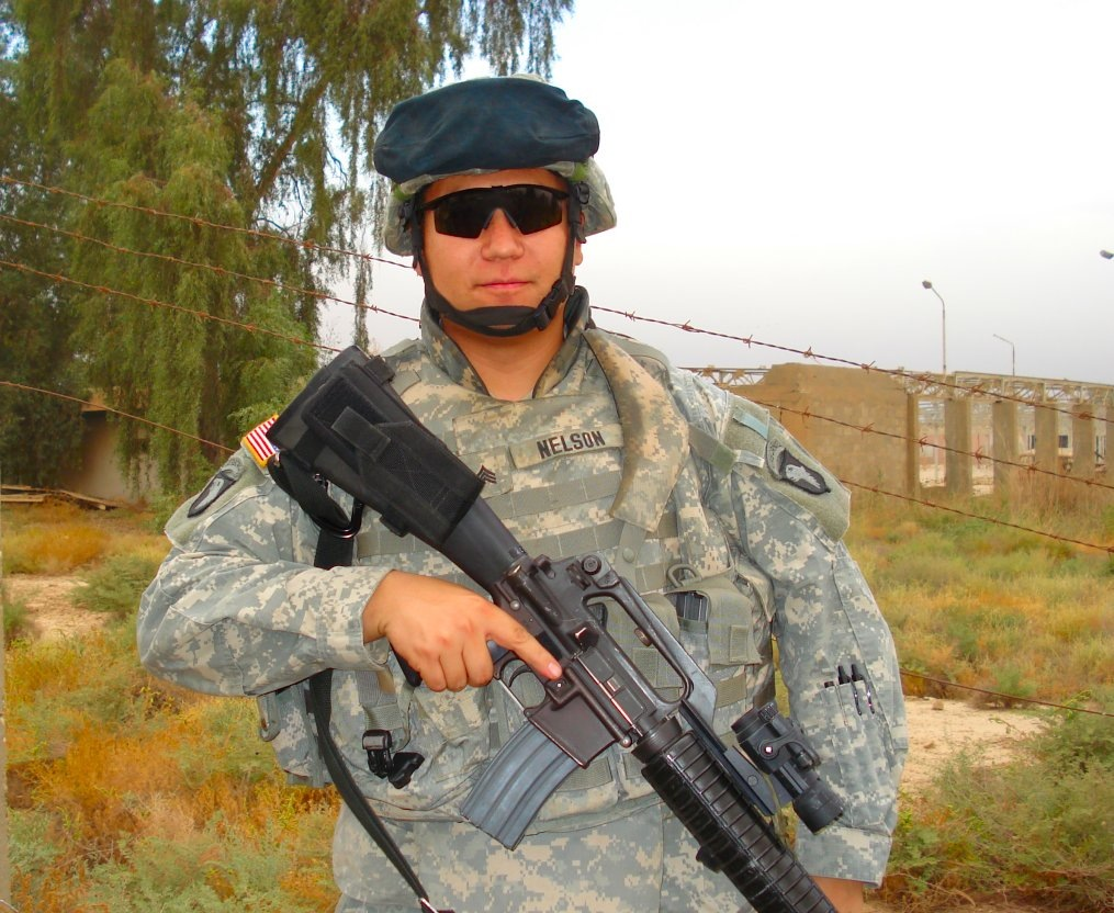 SGT Lewis Nelson in Iraq